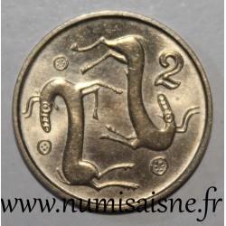 CYPRUS - KM 54 - 2 CENTS 1998