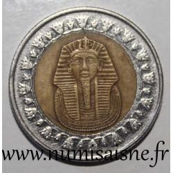EGYPT - KM 940 a - 1 POUND 2008 - TUTANKHAMUN