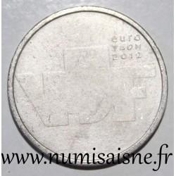 NETHERLANDS - KM 327 - 5 EURO 2012 - The Sculpture