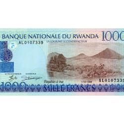 RWANDA - PICK 27 - 1 000 FRANCS - 01/12/1998