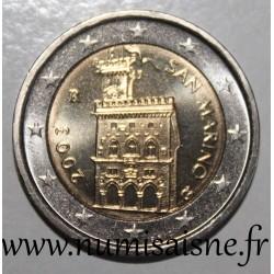 SAN MARINO - KM 447 - 2 EURO 2003 - Palazzo Publico