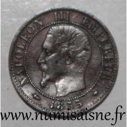 FRANCE - KM 775.1 - 1 CENTIME 1855 MA - Marseille - TYPE NAPOLEON III