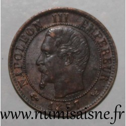 FRANCE - KM 775 - 1 CENTIME 1857 W - Lille - TYPE NAPOLEON III