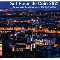 BELGIUM - MINTSET - 2021 - BU - 8.88 euros