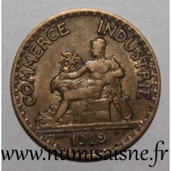 FRANCE - KM 884 - 50 CENTIMES 1929 - TYPE CHAMBER OF COMMERCE
