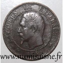 FRANCE - KM 771 - 10 CENTIMES 1855 A - Paris - Anchor - NAPOLEON III TYP