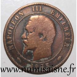 FRANCE - KM 771 - 10 CENTIMES 1853 A - Paris - TYP NAPOLEON III