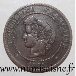 FRANCE - KM 821 - 5 CENTIMES 1883 A - Paris - TYPE CÉRÈS
