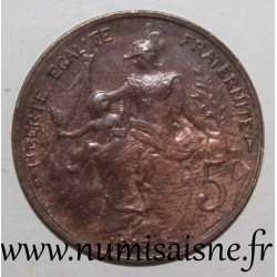 FRANCE - KM 842 - 5 CENTIMES 1916 - TYPE DUPUIS