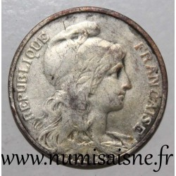 FRANCE - KM 842 - 5 CENTIMES 1914 - TYPE DUPUIS - SILVERED