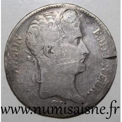 FRANCE - KM 694 - 5 FRANCS 1809 - TYPE NAPOLÉON EMPEROR