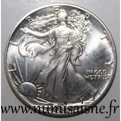 UNITED STATES - KM 273 - 1 DOLLAR 1989 - SILVER EAGLE