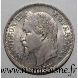 FRANCE - KM 807 - 2 FRANCS 1866 A - Paris - TYPE NAPOLÉON III