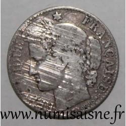 FRANCE - KM 834 - 50 CENTIMES 1874 A - Paris - TYPE CERES