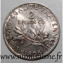 FRANCE - KM 845 - 2 FRANCS 1898 - TYPE SOWER
