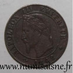 FRANCE - KM 795 - 1 CENTIME 1862 A - Paris - TYPE NAPOLEON III