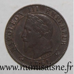 FRANCE - KM 795 - 1 CENTIME 1861 K - Bordeaux - TYPE NAPOLEON III