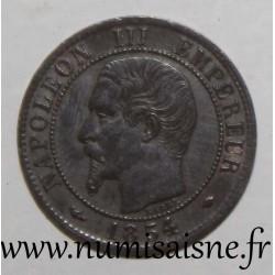 FRANCE - KM 775.1 - 1 CENTIME 1854 MA - Marseille - TYPE NAPOLEON III