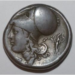 GRECE ANTIQUE - CORINTHE -350 A -338 - PEGASE ET ATHENA - STATERE - TTB