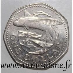 BARBADOS - KM 14 - 1 DOLLAR 1979