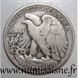 UNITED STATES - KM 142 - 1/2 DOLLAR 1941 S - San Francisco - LIBERTY WALKING