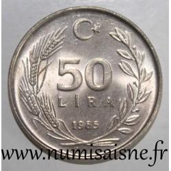 TURKEY - KM 966 - 50 LIRA 1985
