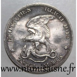 GERMANY - PRUSSIA - KM 533 - 2 MARK 1913 A - Berlin