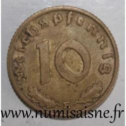 GERMANY - KM 92 - 10 REICHSPFENNIG 1938 E - Muldenhütten