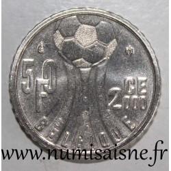 BELGIUM - KM 213.1 - 50 FRANCS 2000 - FRENCH LEGEND