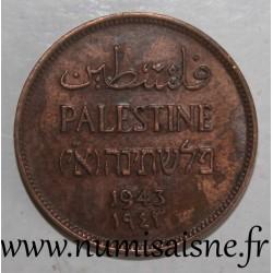 PALESTINE - KM 1 - 1 MIL 1943