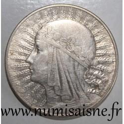 POLAND - Y 22 - 10 ZLOTYCH 1933
