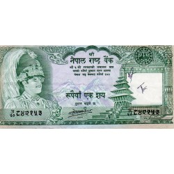 NEPAL - PICK 34 c - 100 RUPEES - UNDATED (1981) - Sign 11