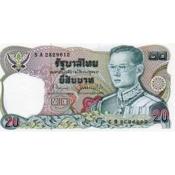 THAILAND - PICK 88 - 20 BAHT - BE2524 / 1981