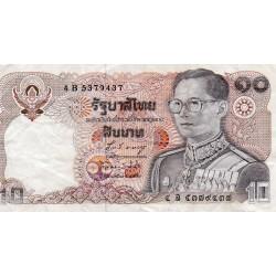 THAILAND - PICK 87 - 10 BAHT - 1980 - SIGN 58