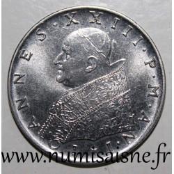 VATICAN - KM 64 - 100 LIRE 1959 - POPE - JOHN XXIII