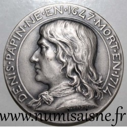 FRANCE - MEDAL - SYNDICATE OF MECHANICAL INDUSTRIES - 1839 - DENIS PAPIN - 1647 - 1714