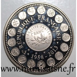 FRANCE - MEDAL - EUROPE OF THE XXVII - 1 FRANC - 1958 - 2013