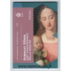 SAN MARINO - 2 EURO 2021 - 550 YEARS OF THE BIRTH OF ALBRECHT DÜRER