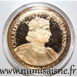 FRANCE - MEDAL - KING - CHARLES IV - 1322 - 1328
