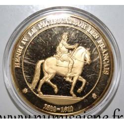 FRANCE - MEDAL - KING - HENRI IV - 1589 - 1610