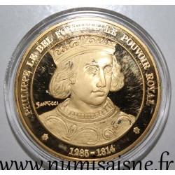 FRANCE - MEDAL - KING - PHILIPPE LE BEL - 1285 - 1314