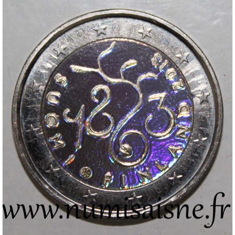 FINLAND - 2 EURO 2013 - Parliament - HOLOGRAM