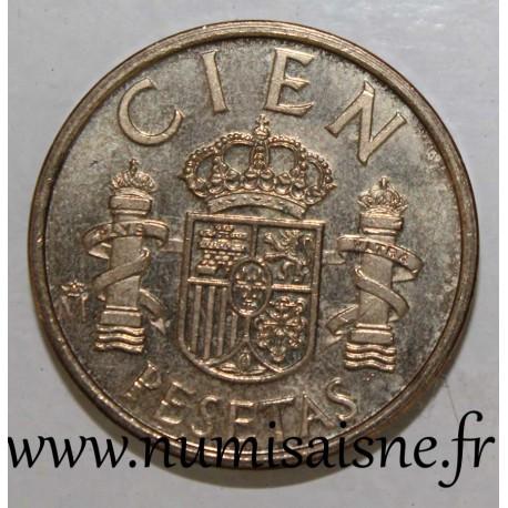SPAIN - KM 826 - 100 PESETAS 1982 - JUAN CARLOS I