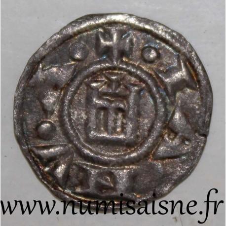 ITALY - GENOA - BIAGGI 835 - DENARIUS 1139 - 1339 - TYPE CONRAD