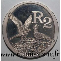 SOUTH AFRICA - KM 374 - 2 RAND 2006 - Secretarybird