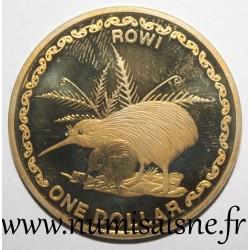 NEW ZEALAND - KM 276 - 1 DOLLAR 2005 - KIWI