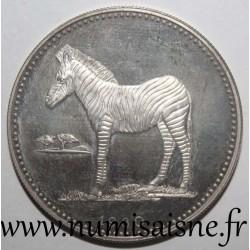 EQUATORIAL GUINEA - KM 55 - 2000 EKUELE 1980 - Zebra