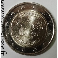 ESTONIA - 2 EURO 2021 - FINNO-UGRIAN PEOPLES
