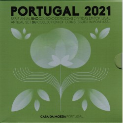 PORTUGAL - 3.88 € - MINTSET BU 2021 - 8 COINS