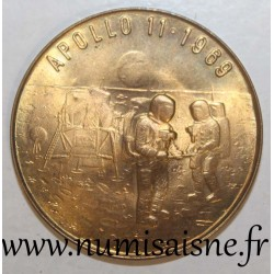 GERMANY - MEDAL - APOLLO 11 - 10 YEARS OF THE LANDING ON THE MOON - 1969 - 1979